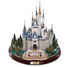 Disney castle figurine