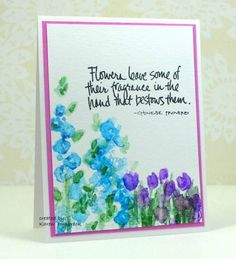 FS380, Nature's Glory by k dunbrook - Cards and Paper Crafts at Splitcoaststampers