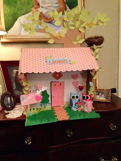 Valentine box -bird house