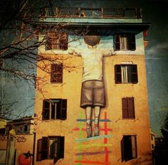Street Art by Seth, located in Rome