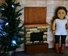 This doll fire place is so cute I want to make it so bad!!!!!!!!!!!!!!!!!!