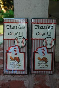 ideas for Little League party. I've got to do this for our amazing Coach E!Cute ideas for Little League party. I've got to do this for our amazing Coach E! Baseball Party, Baseball Treats, Baseball Coach Gifts, Softball Party, Softball Gifts, Cheerleading Gifts, Basketball Gifts, Baseball Birthday, Sports Baseball