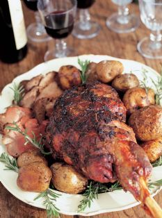 Barefoot Contessa   Recipes   Herb Roasted Lamb; My Thoughts: This Is A
