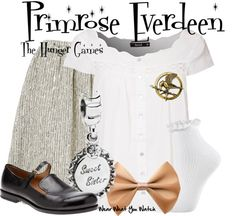 Inspired by Willow Shields as Primrose Everdeen in the Hunger Games franchise.