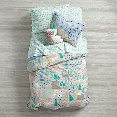 Folktale Forest Bedding | The Land of Nod-THIS WILL BE ELLA'S BIG GIRL BEDDING!! SQUEE!!!