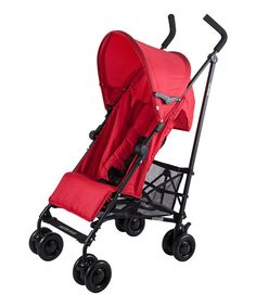 For families on the move, this lightweight, quick-folding stroller is designed to keep up with life's adventures. The reclining seat and adjustable footrest ensure Baby is comfortable as they take in the sites. When it's time to move on to the next escapade, the compact, no-pinch folding mechanism and carry handle allow for a swift transition.Weight capacity: 55 lbs.Reclining seat backCompact, no-pinch folding mechanismAuto fold lockLockable front wheelsBuilt-in back supportAdjustable…
