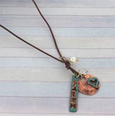 Patina Faith Relic Tag Necklace $12