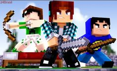 Minecraft - DEFENDA SUA CAMA COM O TAZERCRAFT !! (Bed Wars) Minecraft Skins Bts, Minecraft Skins Kawaii, Minecraft Skins Female, Minecraft Skins Aesthetic, Creeper Minecraft, Cool Minecraft Houses, Disney Minecraft, Capas Minecraft, Minecraft Games