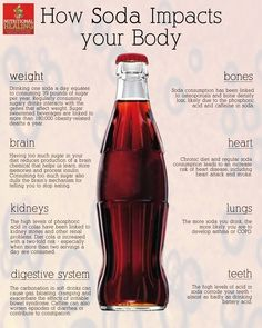 Think twice before drinking soda! #health #nutrition #weightloss #soda