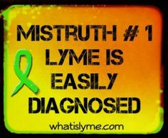 lyme is not easily diagnosed Doctors avoid diagnosis  Milk you for many sometimes invasive tests