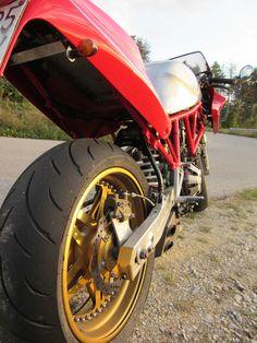 """#Ducati SS 900 """"CagiDuc Evo"""" #Superpantah #caferacerculture #LetsGetWordy #DatAss"""