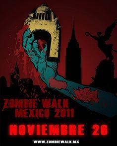 Zombie Walk de la Ciudad de México quiere romper récord Guinness