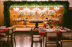 decoração recepção casamento