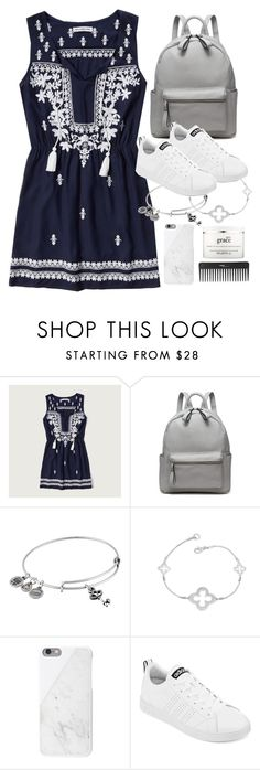 """Untitled #1854"" by sophiasstyle ❤ liked on Polyvore featuring Abercrombie & Fitch, Alex and Ani, Native Union, adidas, Sephora Collection and philosophy"