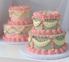 Pretty Birthday Cakes, Pretty Cakes, Bts Cake, Frog Cakes, Just Cakes, Fancy Cakes, Cute Food, Food Cravings, Cake Designs