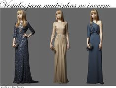 vestido de inverno para madrinha 4