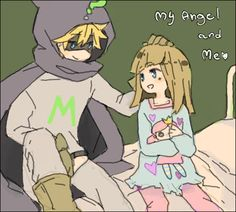 Mysterion and Karen (South Park) by chi-anikkori on DeviantArt