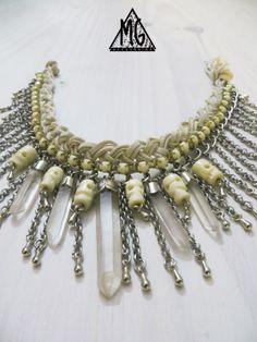 Collar WHITE MUSTANG