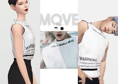 WAEKEY • Move Top   MOVE-themed collaboration with...