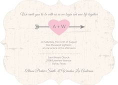 Smarty Charts Unique Wedding Invitation by WeddingPaperie