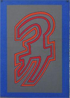 Chryssa Vardea serigraph from Bellangelo Gallery