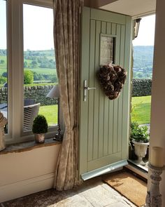 Chartwell Green Door.....suits our barn....