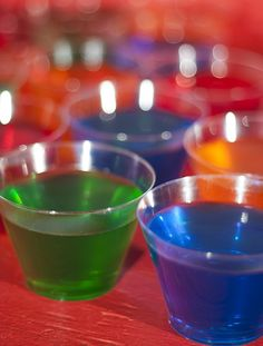 Jello shots remain a popular party treat and this fun recipe transforms the popular whiskey sour cocktail into a jiggly, boozy shot everyone will love.
