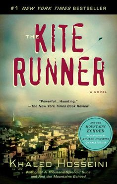 The Kite Runner by Khaled Hosseini // Reasons: Homosexuality, offensive language, religious viewpoint, sexually explicit