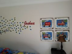 Toddler boy's bedroom