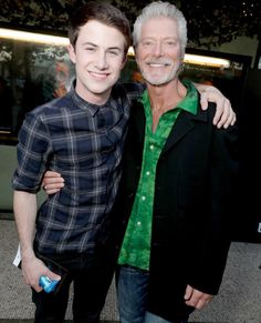 Dylan and Stephen Lang at special LA screening of Don't Breathe Alex Standall, Zach Dempsey, Alisha Boe, Stephen Lang, Justin Foley, Nothing Lasts Forever, Celebs, Celebrities, Selena Gomez