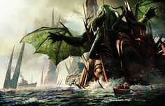 The Call of Cthulhu - The Madness from the Sea by SpardaLDK89.deviantart.com on @DeviantArt