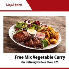 Mogul Spices offers delicious Indian Food in Godalming, Guildford Browse takeaway menu and place your order with ChefOnline. You can pay via cash. Order Takeaway, Kingston Upon Thames, Food Online, Vegetable Curry, Mixed Vegetables, Food Items, Indian Food Recipes, Spices, Menu