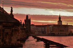 Prague´s sunrise