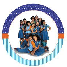 Chiquititas – Kit festa infantil grátis para imprimir – Inspire sua Festa ®
