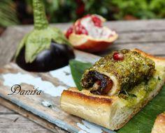 Involtini di melanzane con spatola e melograno http://leleccorniedidanita.blogspot.it/2013/12/involtini-di-pesce-spatola-con.html