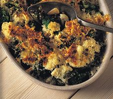 Brocoli et chou-fleur piquants Paella, Allrecipes, Quiche, Cauliflower, Cooking Recipes, Vegetables, Breakfast, Ethnic Recipes, Food