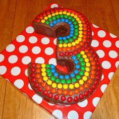 SewSara: Simon's Birthday and a 3-shaped cake