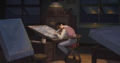"From the new English-language trailer for ""The Wind Rises.""  Deadline has the trailer  here: http://www.deadline.com/2013/11/the-wind-rises-hayao-miyazaki-trailer-video/"
