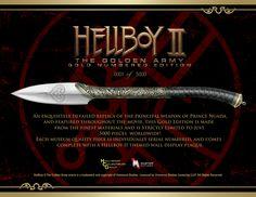 hellboy II prince nuada sword