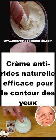Crème anti-rides naturelle efficace pour le contour des yeux Prévenir Les Rides, Anti Ride Naturel, Creme Anti Rides, Healthy Tips, Contour, Health Fitness, Food, Art, Fashion