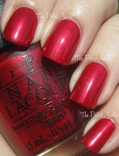 OPI Fall 2012 Germany Collection: Danke-Shiny Red