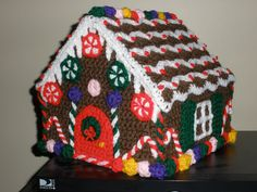Gingerbread House (from Crochet Today)