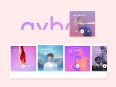 music kit of avbo by crisssamson Popular Interface Design, Ui Design, Ui Inspiration, Kit, Grafik Design, Pattern, Shots, Popular, Website