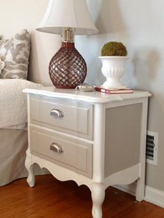 Are you tired of your boring old nightstand? Or have you found a basic bedside table that could use a little personalization? Lucky for you, we've got some great ideas from paint to distressing to gilding and more!