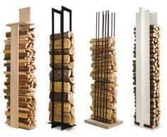 You want to build a outdoor firewood rack? Here is a some firewood storage and creative firewood rack ideas for outdoors. Firewood Holder Indoor, Firewood Stand, Range Buche, Log Holder, Wood Burner, Fireplace Design, Wood Projects, Diy Furniture, Hot Toddy