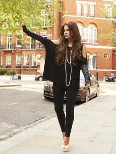 Binki, Made in Chelsea Chelsea Girls, Made In Chelsea, Binky Felstead Style, Black Closet, Stunning Brunette, Cold Weather Fashion, How To Look Classy, Dress Styles, Buckets