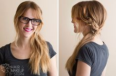 DIY! Your Step-by-Step for the Best Cute Hairstyles, Braided Topsy Tail