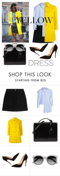 """""""Untitled #57"""" by changchana ❤ liked on Polyvore featuring rag & bone, Vetements, Aspesi, Piaget, Mark Cross, Christian Louboutin and Ace"""