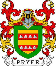 Pryer Coat of Arms