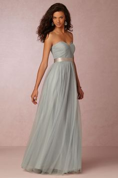 Annabelle Dress from @BHLDN Love this color or the spearmint but would have to be cut